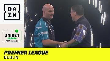 Spannung in Dublin! 9-Darter & Weltmeister-Duell | Premier League of Darts | DAZN Highlights