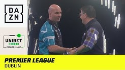 Spannung in Dublin! 9-Darter & Weltmeister-Duell | Premier League of Darts | DAZN Highlights