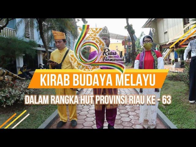 Anjungan Riau Memperingati HUT Provinsi Riau Ke - 63