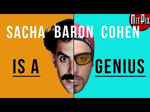 Why Sacha Baron Cohen Is A Genius - NitPix