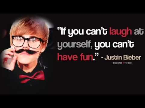 My Favorite Justin Bieber Quotes