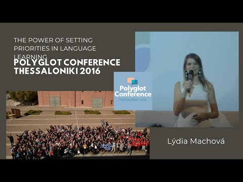 Lýdia Machová – The Power of Setting Priorities in Language Learning