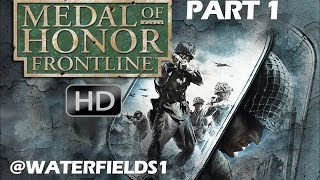 Medal Of Honor Frontline PS3 HD Part 1 (Your Finest Hour)