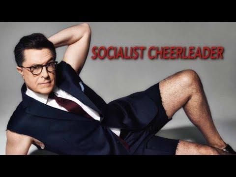 Halloween Is Socialism: Court Jester Colbert Explains
