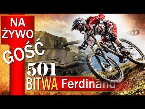 Ferdinand i downhill - BITWA - World of tanks