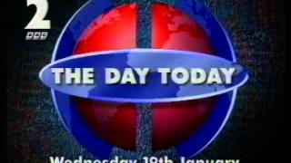 BBC2 junction 1 January 1994