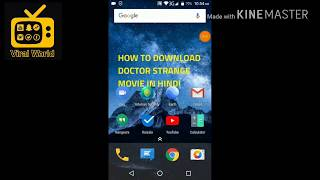 How to download Doctor Strange 2016 hindi movie