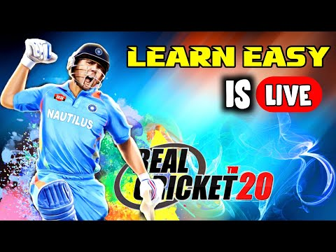 🔥 Real Cricket 20 Watch Live Gameplay Join Us .