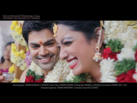 Actor Ganesh Venkatram & Nisha Krishnan - Fairytale Wedding