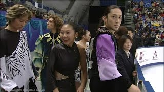 [HD] Free Dance Group 1 Warming Up - 2002 Worlds
