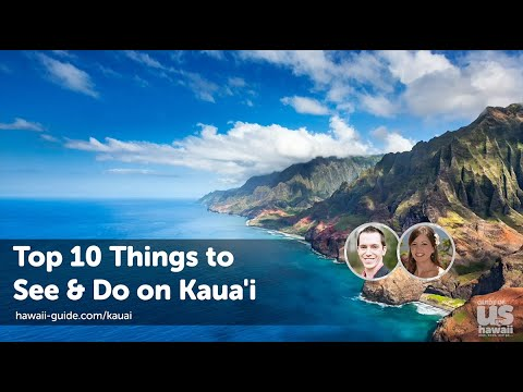 KAUAI - TOP 10 Things To See & Do - Kauai's Best Attractions + Must See & Do