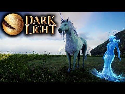 Dark and Light - Mystic Feed Testing & Unicorn Taming (Altar of Darkness (Dark & Light Game Part 23)