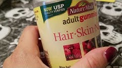 ✅  How To use Nature Made Hair Skin Nails Adult Gummies Supplement Review