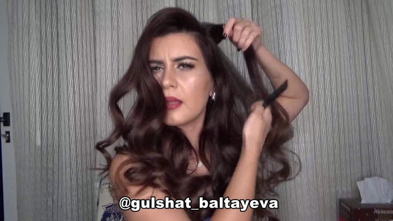 Son zamanlarin Favori hair style videos. Gulshat-Baltayeva Make=up and hair style. Turkmen kizi.