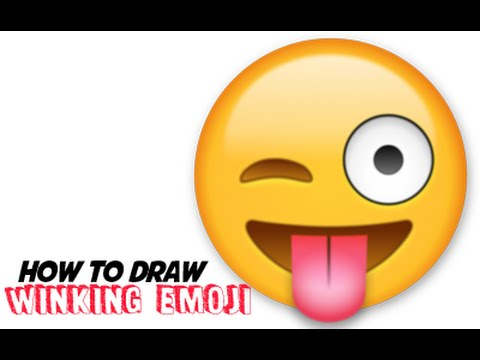 how-to-draw-emojis---winking-with-tongue-out-emoji