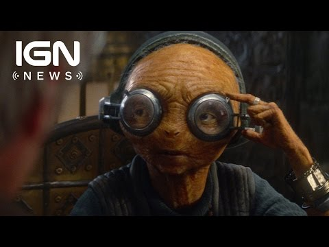Force Awakens Deleted Scene Reveals Something New About Maz Kanata - IGN News