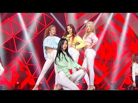 《Sexy》 달샤벳(Dalshabet) - 너같은(Someone like U) @인기가요 Inkigayo 20160124