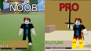 Starting Over Noob to Pro Blox Fruits UPDATE 14