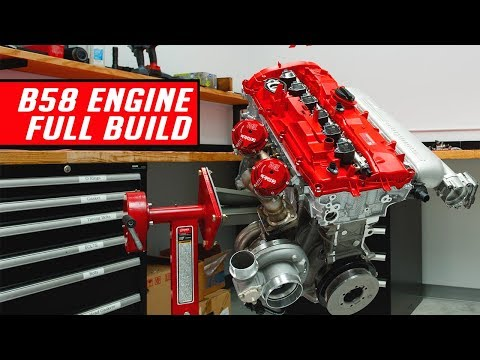 2020 Supra 1000 HP Engine Assembly - Start to Finish