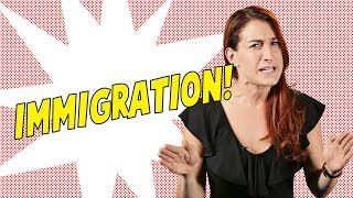 IT'S ALREADY HARD TO IMMIGRATE TO AMERICA - Joanna Rants