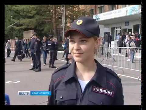 Студенты Сибирского юридического института МВД России приняли присягу