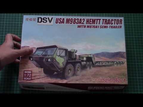 Modelcollect 1/72 M983A2 HEMTT Tractor...