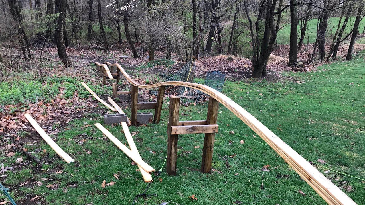 The NEW Backyard Roller Coaster Update #1 - YouTube