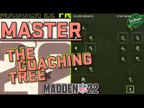 Madden 22: How to Master the Coaching Tree