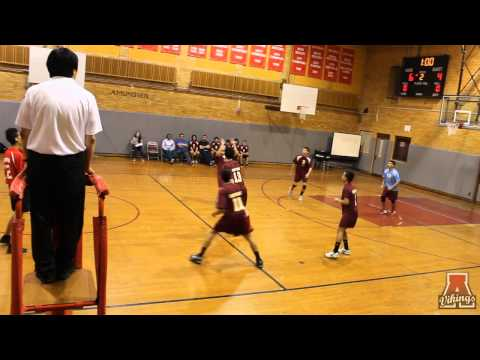 Amundsen High School Boys Volleyball Game 3-31-2014