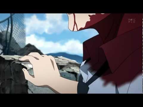 Mirai Nikki - Yuno beheads Akise
