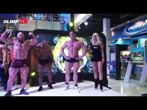 Olimp Team Athlets Show - Fibo Power 2014