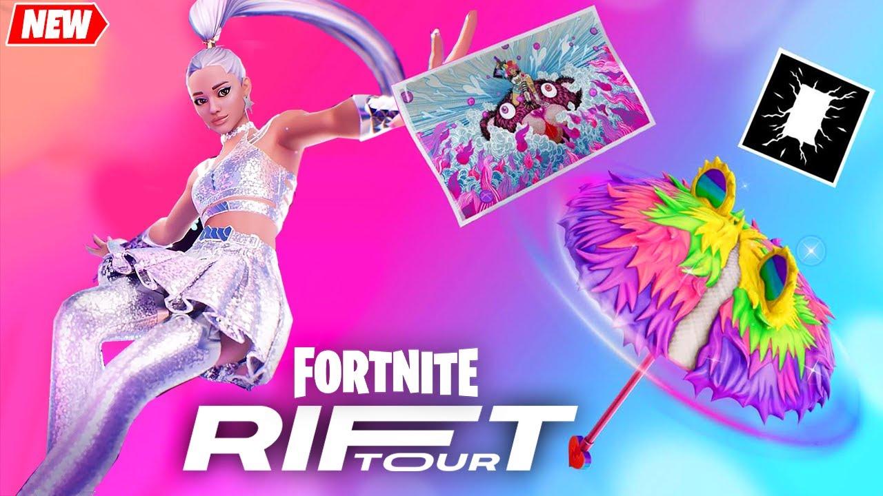 Ariana Grande Trailer, EMOTE and All Rift Tour Rewards
