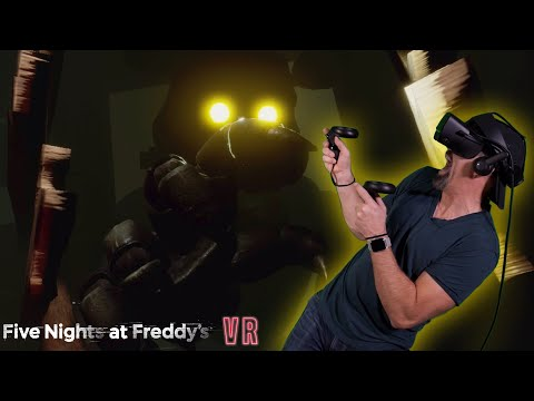 OMG NO!! IT'S DREADBEAR!! | FNAF VR: Curse Of Dreadbear DLC