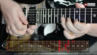 �������� ���� How to improvise over Funk guitar - with scale patterns ������