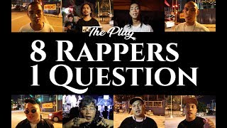 The Plug Ph Presents 8 Rappers, 1 Question Video