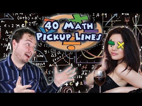 40 Math Pick Up Lines
