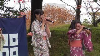 丸亀城キャッスルフエスタできみともキャンディが着物姿でライブご覧あれ!
