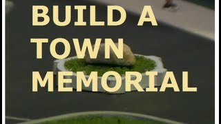 HOW TO BUILD A MODEL RAILROAD TOWN SQUARE MEMORIAL