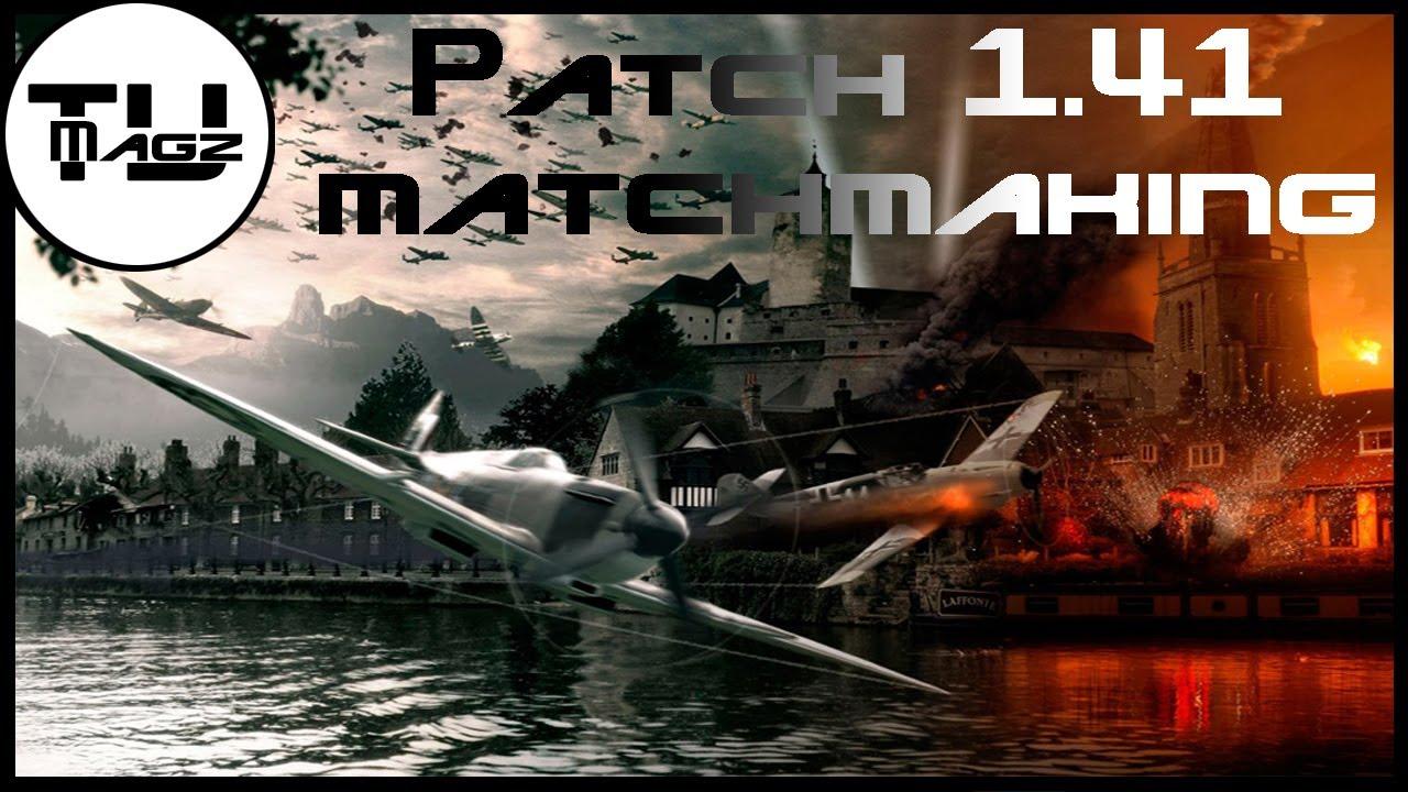 Matchmaking War Thunder 1,41