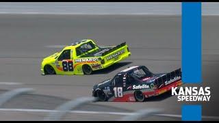 Three-year win drought broken for Crafton at Kansas   NASCAR