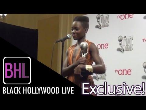 Lupita Nyong'o @ NAACP  Awards Press Conference  Black Hollywood Live