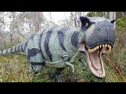 Walking with Dinosaurs at Tasmania Zoo