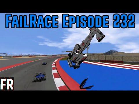 FailRace Episode 232 - Formula 1 Car Vs Kerb