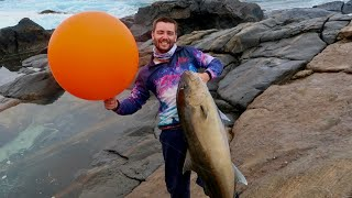 Using a Giant Balloon for Fishing