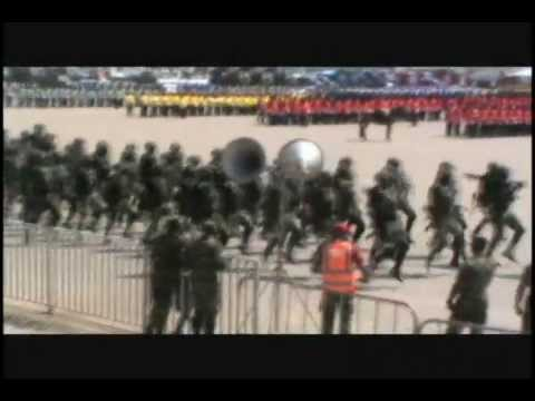 Special forces of the Ghana Armed Forces at the 56th Ghana's Independence Anniversary