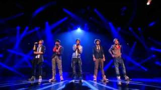 One Direction sing Nobody Knows - The X Factor Live show 3 (Full Version)