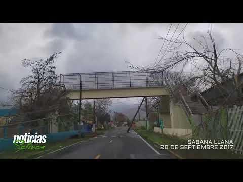 Huracán María 2017: Salinas, Puerto Rico (Sabana Llana)
