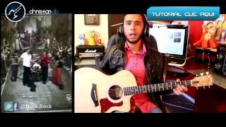 Asi es La Vida - ELEFANTE - Guitarra Cover Acustico Demo Christianvib