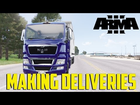 ARMA 3 Humanity - Making Deliveries