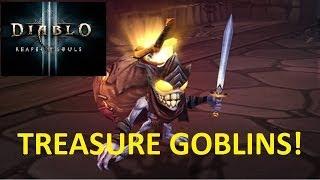 Diablo III - RoS TREASURE GOBLINS!